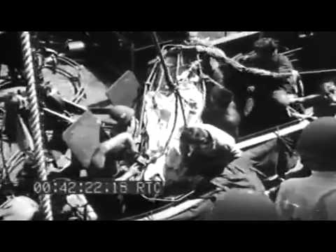 Saipan Invasion: Aboard Command Ship USS Rocky Mount (AGC-3); Casualties; LCVPs, 6/22/1944 (full)