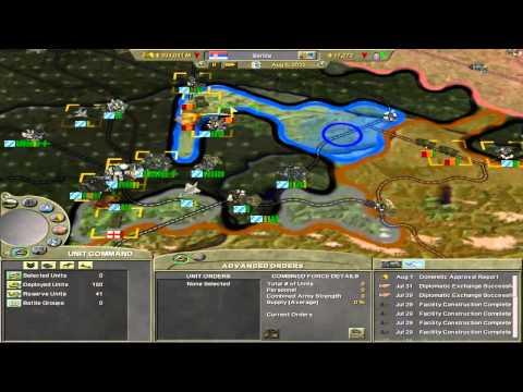 Supreme Ruler 2020 - Kingdom of Serbia - Part 11 - Battle of Warsaw Part 2