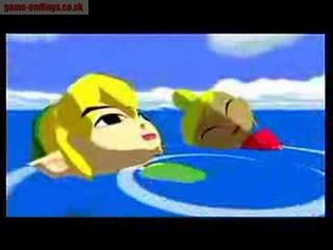 Zelda: The Wind Waker ending