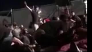 Man Stands Up During Las Vegas Shooting