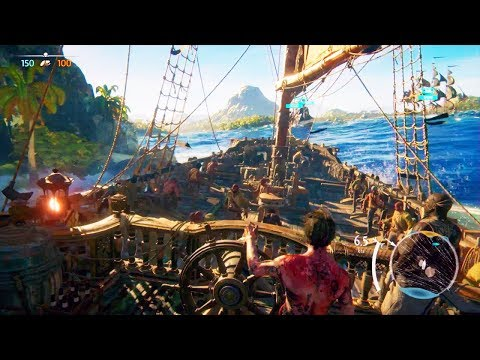 SKULL AND BONES Gameplay Multijoueur (E3 2017)