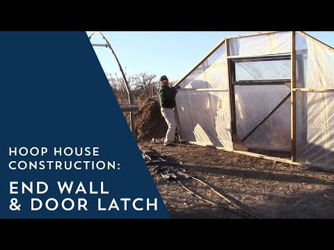Hoop House Side Wall Construction Doovi