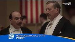 """""""Poirot"""" ogni sabato alle 21.15 su Tv2000"""