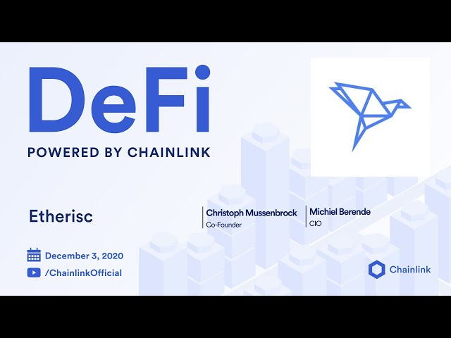 Etherisc and Chainlink Live Q&A: Parametric Insurance, ACRE Africa, and Decentralized Oracles