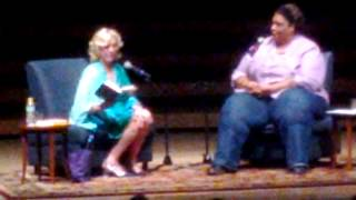 Erica Jong reads from Fear Of Fifty. 2015 Decatur