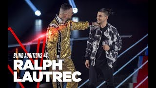 "Ralph Lautrec  ""Happy Days"" - Blind Auditions #4 - TVOI 2019"