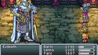 Final Fantasy V Advance - Exdeath Battle