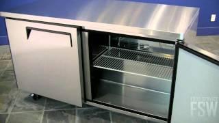 Turbo Air Undercounter Freezer Video (muf-60)