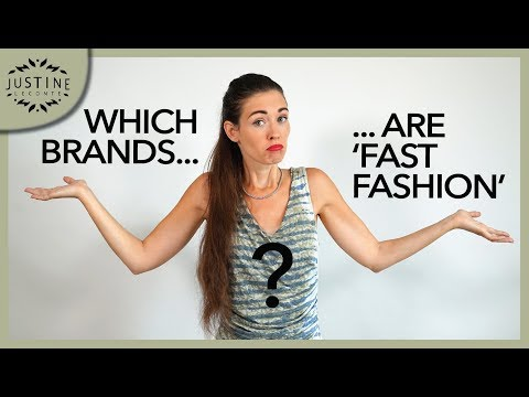 "Which brands are ""fast fashion""? How to tell (in 4 points) ǀ Justine Leconte"