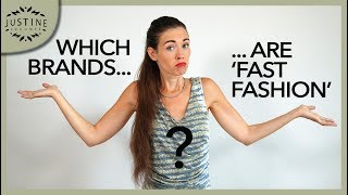 """Which brands are """"fast fashion""""? How to tell (in 4 points) ǀ Justine Leconte"""
