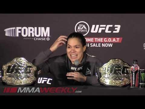 UFC 232: Amanda Nunes Post-Fight Press Conference  (FULL)
