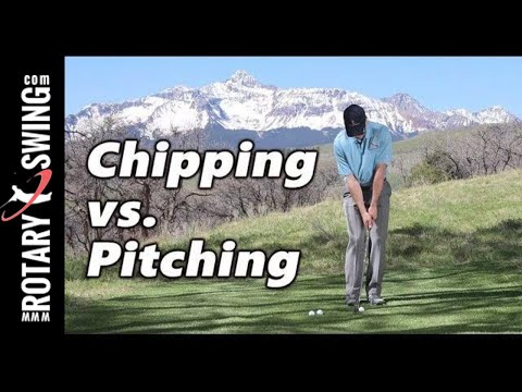 Chipping vs Pitching | Tips to Hole Out More Often