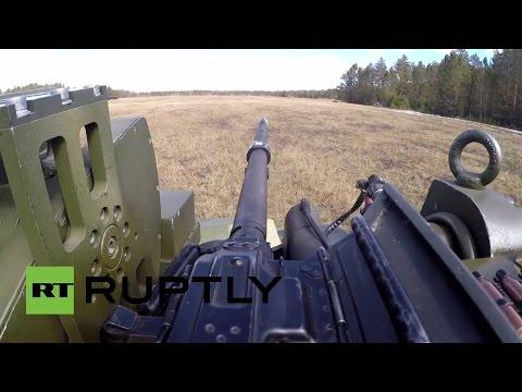 Así es el nuevo robot de combate ruso Nerehta en acción