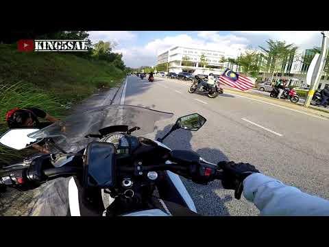 Konvoi Polis   Ride Bersekutu RBV3   Kota Damansara   Merdeka ke 61 2018