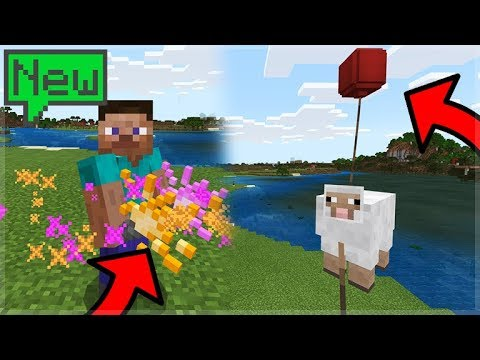 NEW SCIENCE UPDATE IN MINECRAFT 1.4 BETA! (Helium Balloons!)