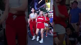 2018.8.12&걷고싶은거리&홍대&공차앞&버스킹&여성댄스팀&Diana(효림)&by큰별