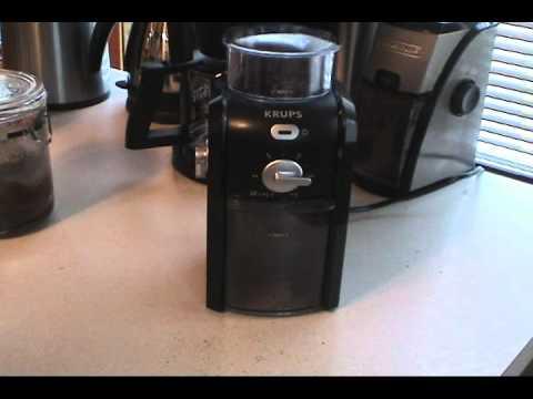 Krups GVX-1 Burr Grinder Review