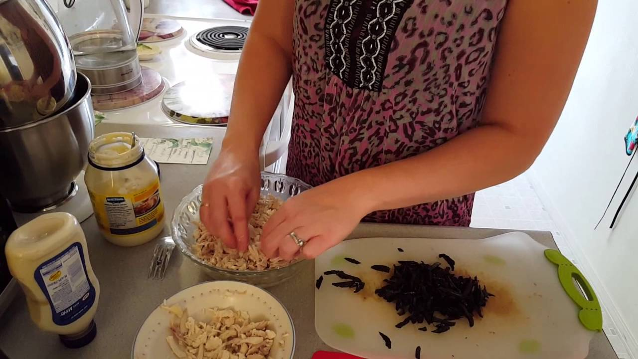 курочка ряба салат с черносливом
