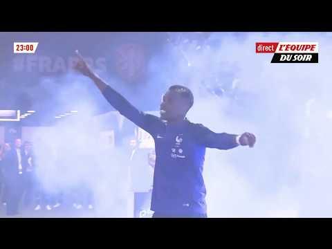 Paul Pogba met l'ambiance au Stade de France ! (Présentation Coupe du Monde)