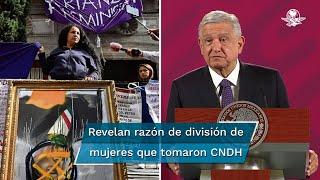 """El Presidente Andrés Manuel López Obrador señaló que en esta protesta """"no hay mucha transparencia"""", pero garantizó que habrá libertad de manifestación"""