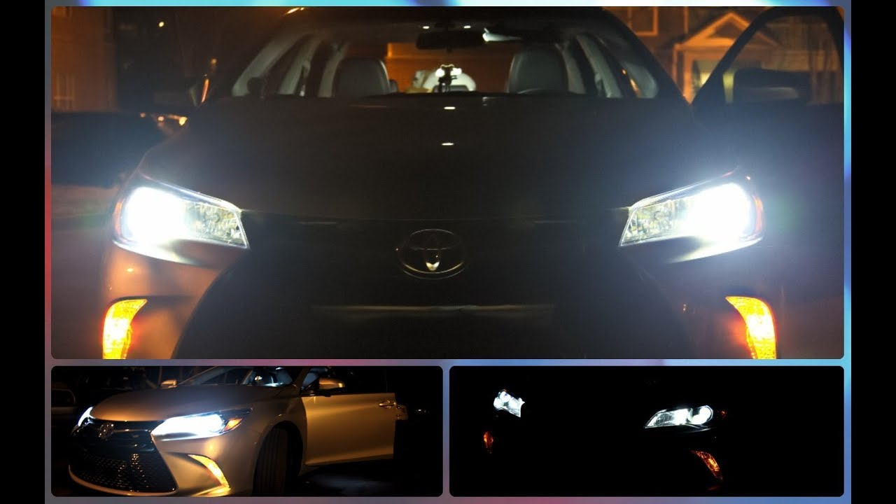 Diy Upgrade Toyota Camry 2017 With Led Headlights Drls
