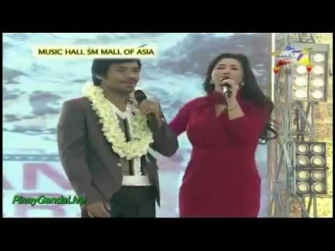 Para Sa 'Yo Ang Laban Na 'To - Regine Velasquez & Manny Pacquiao [HD]