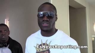 deontay wilder on Beating Former UBF World Champion Charlie Z EsNews Boxing