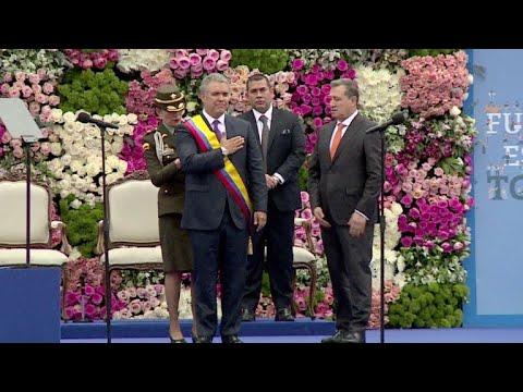 Resultado de imagen para Duque llega al poder en Colombia con la mira puesta en política de paz y Maduro
