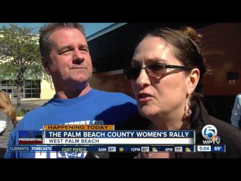Palm Beach County Women's Rally happening today