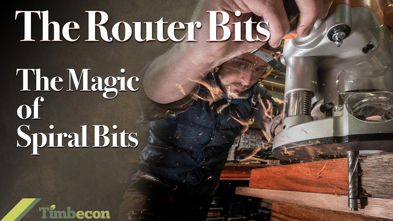 The Router Bits The Magic Of Spiral Router Bits Youtube