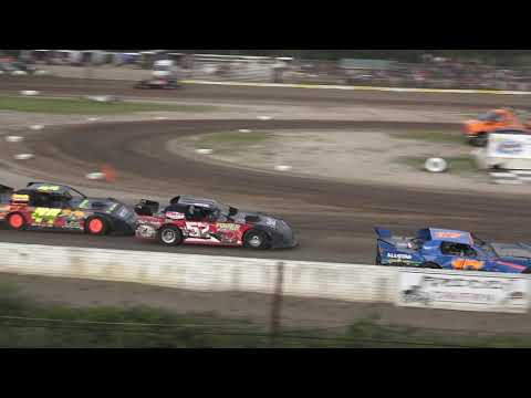 Pro Stock Heat Race at Mt. Pleasant Speedway, Michigan on 07-26-2019!