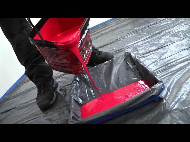 Malowanie ścian w pokoju krok po kroku - film instruktażowy Śnieżka Barwy Natury
