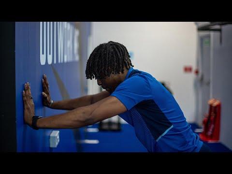 Eze & Ferguson at the gym    Crystal Palace Shorts