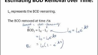 BOD Calculations
