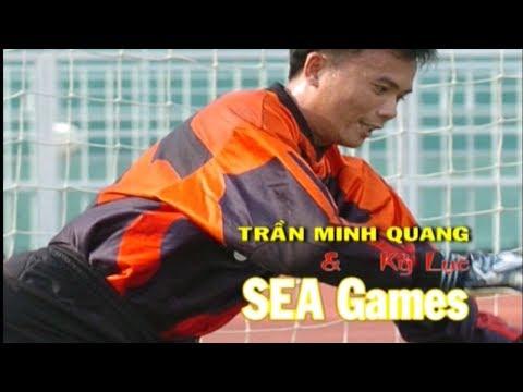 Thủ môn Trần Minh Quang với kỷ lục 490 phút liên tiếp giữ sạch lưới tại SEA Games