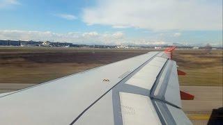 A319 easyJet Time Lapse | Milan MXP to Palermo |