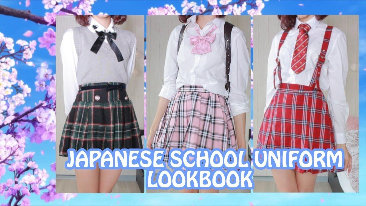 Kawaii School Uniform Lookbook ? 6