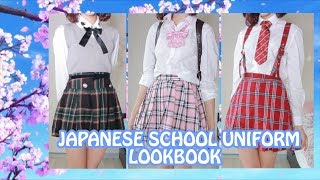 Kawaii School Uniform Lookbook 🌸