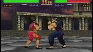 Virtua Fighter 2 - Super combos #1