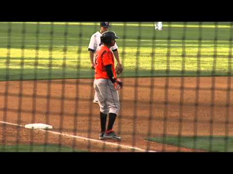 Bowie Baysox at Binghamton Mets Game Highlights - August 6, 2015