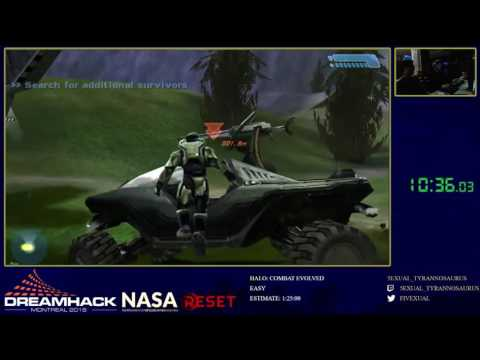 Dreamhack Montreal 2016: Halo: Combat Evolved - Easy by 5exual_tyrannosaurus