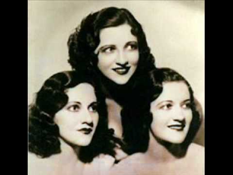 Boswell Sisters - The Gold Diggers Song We're In The Money 1933