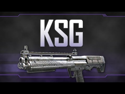 Video clip hay Speed Drawing Black Ops 2 KSG Shotgun ... M1216 Real Life