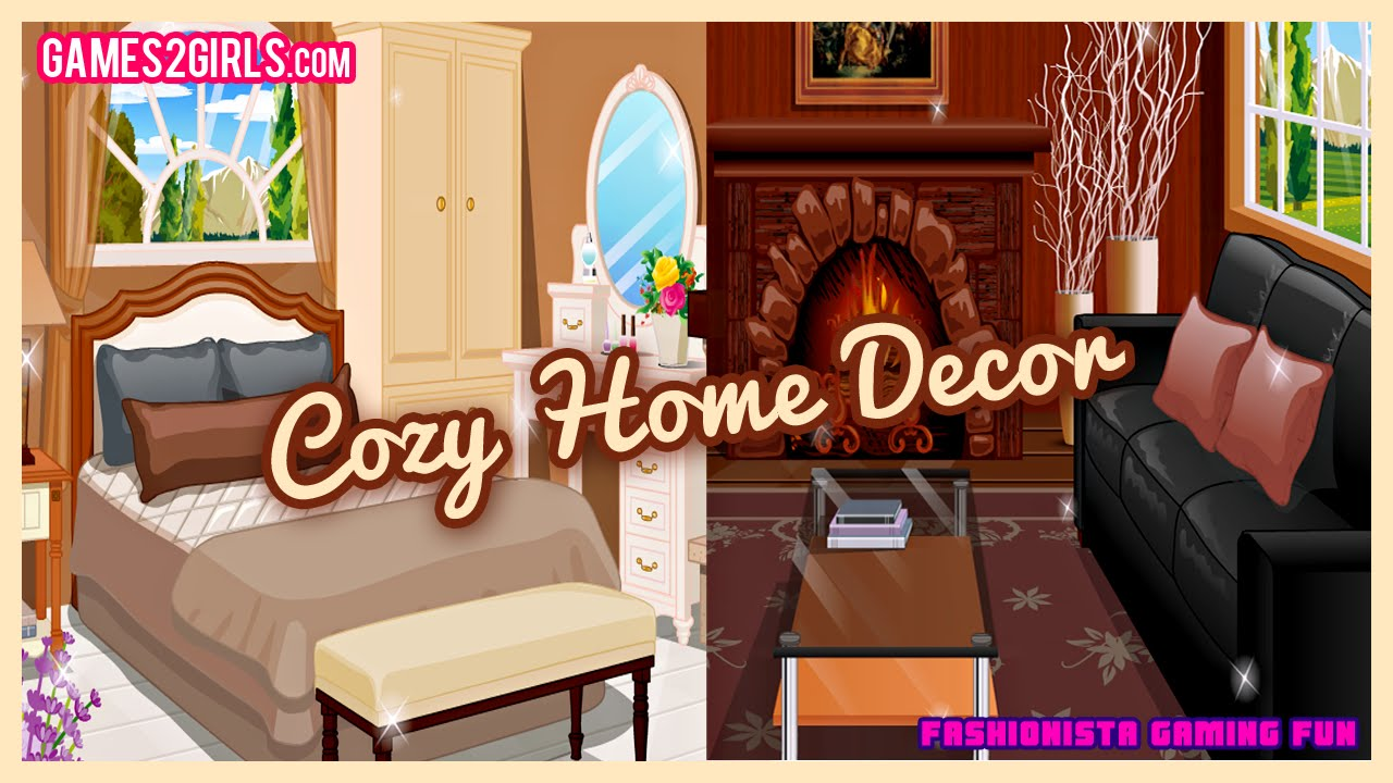 Attirant Cozy Home Decor  Fun Online Decorating Games For Girls Kids Teens   YouTube