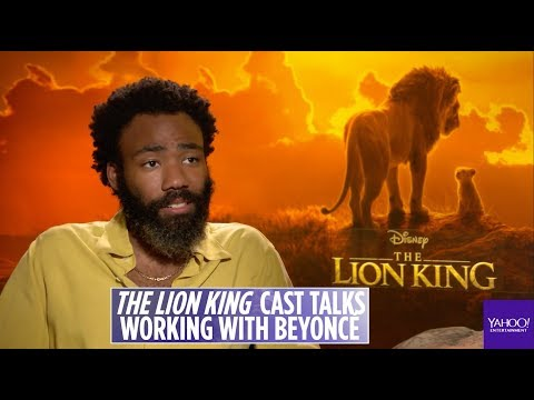 'Lion King' Star Donald Glover On Working With Beyonce On 'Can You Feel The Love Tonight' Song