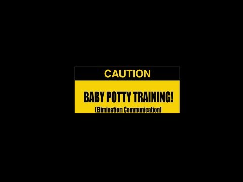 Infant potty training, Alayna 6 months old