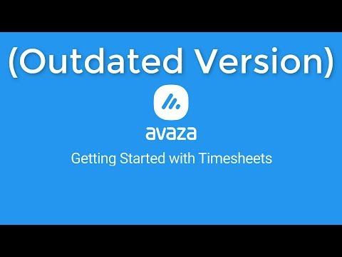 Avaza - Getting Started with Timesheets