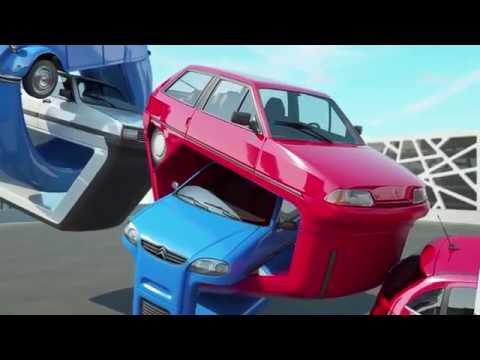 Nieuwe Citroën C3 samen met haar voorgangers