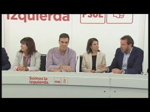 El PSOE decide si presenta una moción de censura contra Rajoy