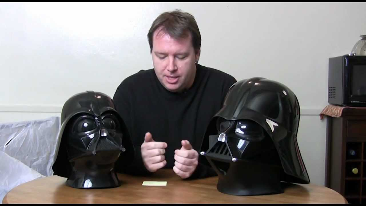 Rubies and don post darth vader helmet review amp compaison youtube